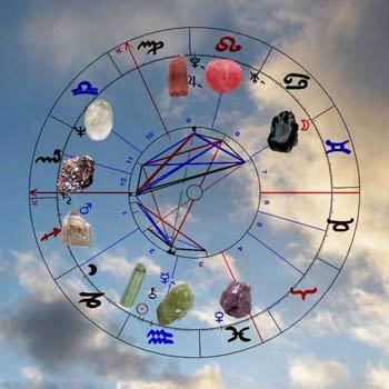 Astrologisches Heilsteine Horoskop