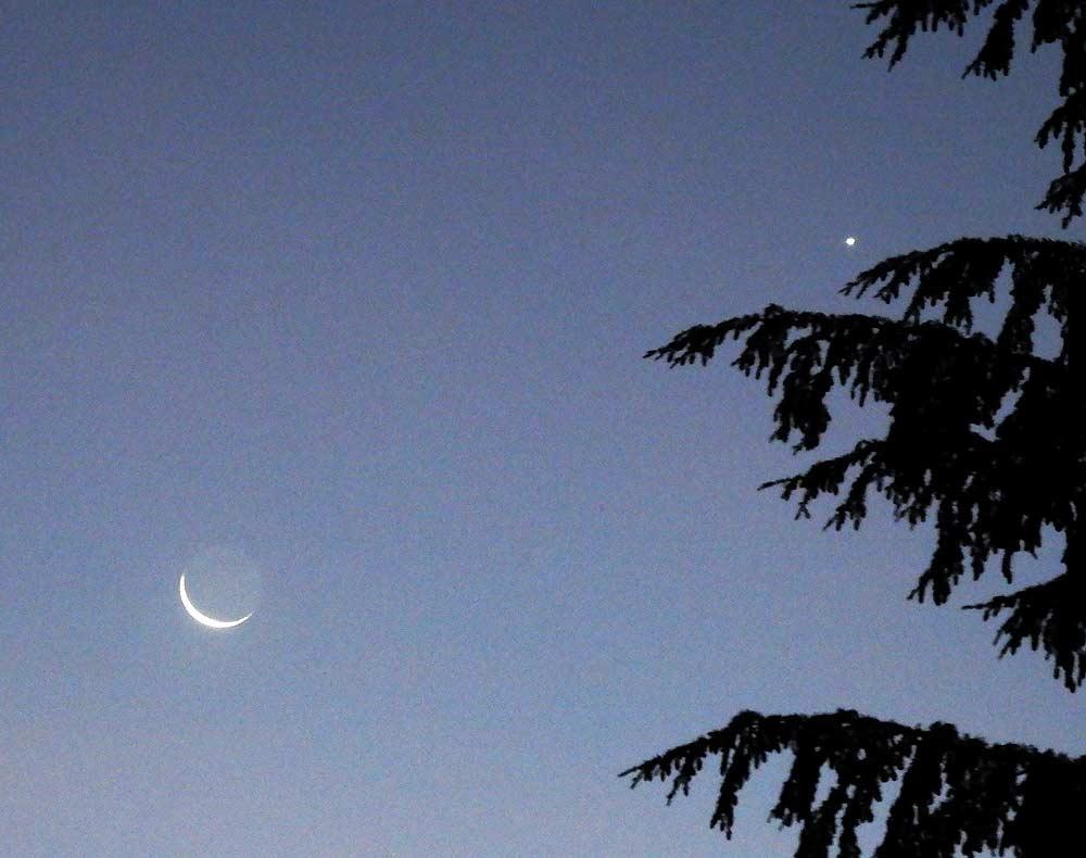 Mond-Venus